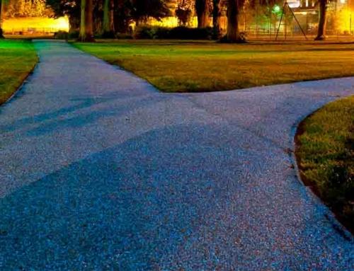 Pavimentos lumínicos sin coste energético