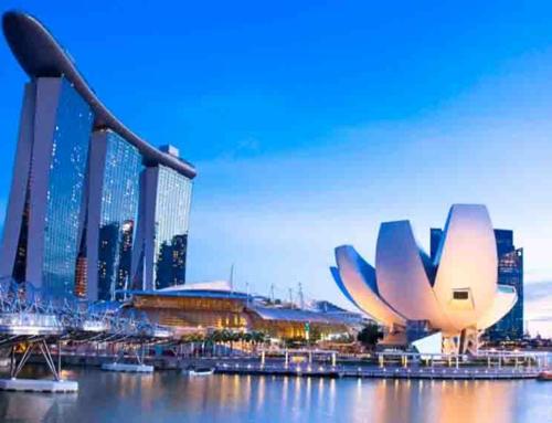 Los edificios de Singapur