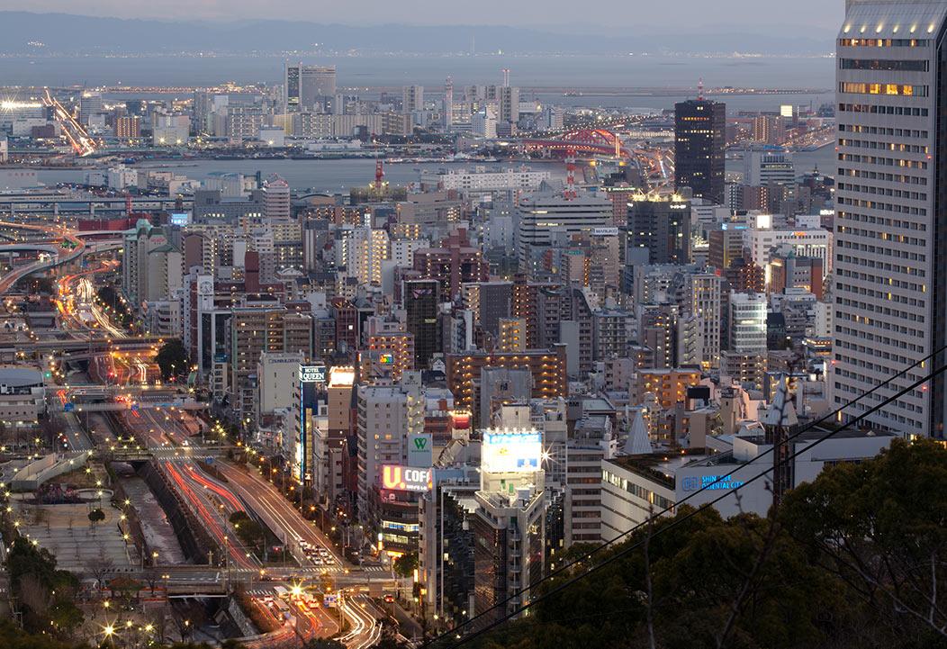 Ciudad de Kobe. La ciudad tras la pandemia será el principio de los nuevos criterios urbanos y urbanísticos